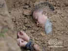 Shock với cảnh Lương Mạnh Hải bị chôn sống