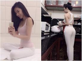 'Chết đứ đừ' với ảnh mỹ nhân Việt ở nhà một mình