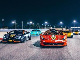 Hành trình siêu xe của các tay chơi Trung Đông