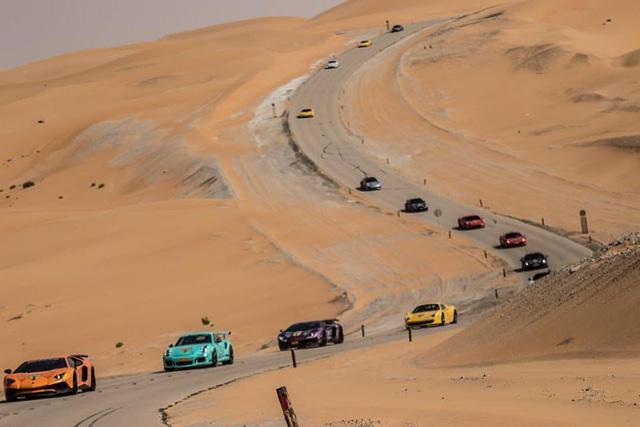 Hành trình siêu xe của các tay chơi Trung Đông - Ảnh 2.