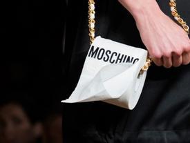 Lồng dây xích vào cuộn giấy vệ sinh - chiếc túi hàng hiệu có 'một không hai'