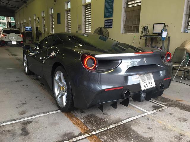 Bật mí về biển số lạ trên siêu xe Ferrari 488 GTB tại Thủ đô - Ảnh 3.