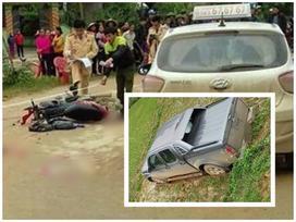 Nghệ An: 3 nữ sinh THPT bị xe đâm nhập viện ngày 8/3