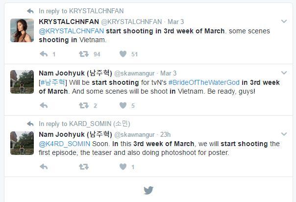 Thực hư tin đồn Thủy Thần Nam Joo Hyuk đến Việt Nam ghi hình