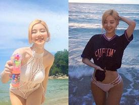 DJ Soda khoe thân hình nóng bỏng tại bãi biển Malaysia