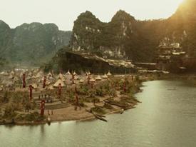 Vẻ đẹp nên thơ của thung lũng Ninh Bình trong