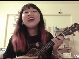 """Trang Hý lại làm chao đảo thế giới ảo với clip cover """"đẹp – độc – bựa"""""""