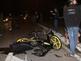 Đà Nẵng: Va chạm liên hoàn giữa 8 xe máy, ít nhất 5 người bị thương