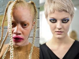 Những kiểu make-up 'dọa ma' khiến người xem giật mình tại Tuần lễ thời trang thu/đông 2017