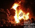 Cháy lớn buổi ra mắt phim Kong Skull Island