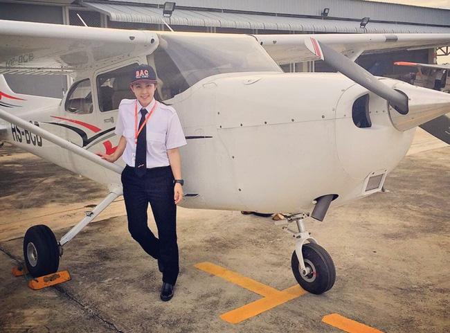 Nhan sắc nữ phi công được mệnh danh là xinh đẹp nhất Thái Lan - Ảnh 7.