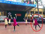 Dân mạng 'bấn loạn' với cô giáo trẻ nhảy cực sung trên nền nhạc 'Bống bống bang bang'