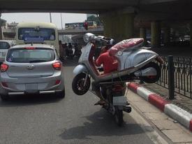 'Hoang mang' với những hình ảnh giao thông chỉ có ở Việt Nam