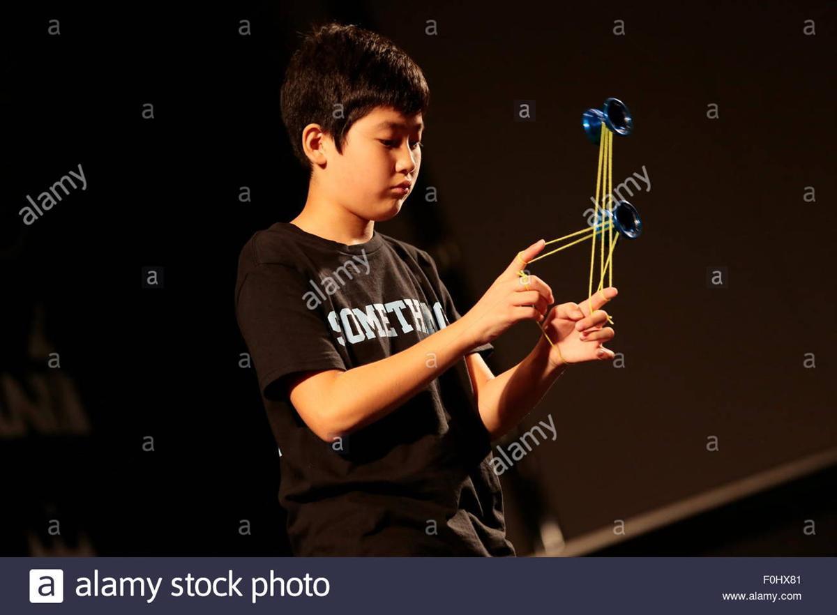 Hajime Miura - Cậu nhóc 11 tuổi ba lần vô địch Yoyo thế giới-2