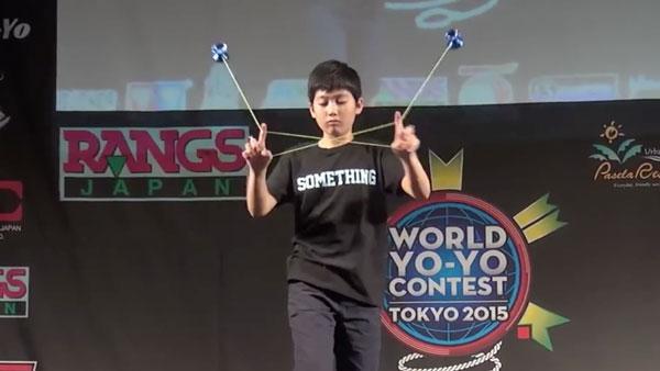 Hajime Miura - Cậu nhóc 11 tuổi ba lần vô địch Yoyo thế giới-4