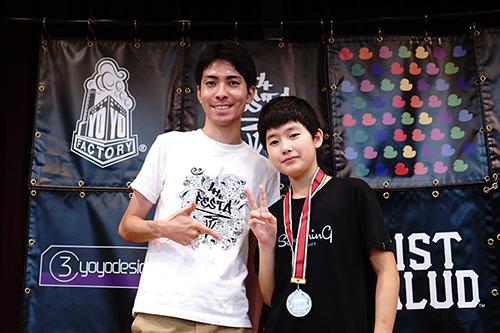 Hajime Miura - Cậu nhóc 11 tuổi ba lần vô địch Yoyo thế giới-5