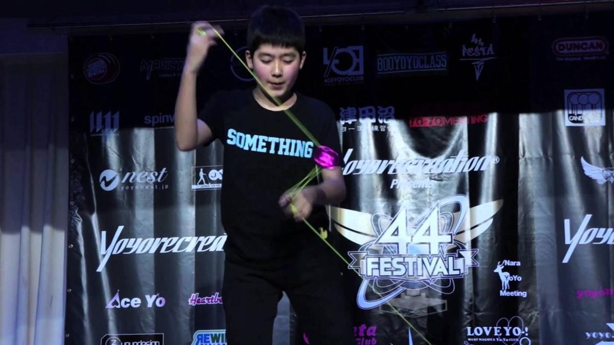 Hajime Miura - Cậu nhóc 11 tuổi ba lần vô địch Yoyo thế giới-6