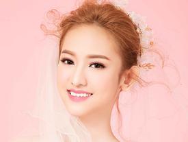 Thúy Vi hóa cô dâu gợi cảm, khẳng định khát khao chinh phục The Face 2017