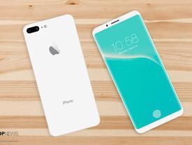 Mãn nhãn với vẻ đẹp tinh tế của iPhone 8 có màn hình cong tràn cạnh