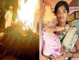 Con gái bị nhà chồng ép phá thai đến chết, bố căm phẫn thiêu xác con trước cửa nhà thông gia