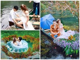 Cặp đôi bị chửi vì ngâm mình dưới nước lạnh chụp ảnh cưới, cho đến khi nhìn thấy kết quả...
