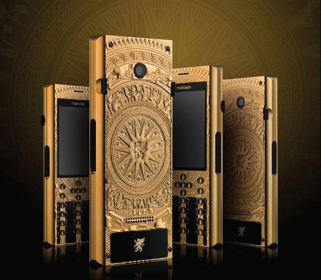 Điện thoại hạng sang Mobiado lấy cảm hứng từ trống đồng Đông Sơn - Điện thoại - Ảnh 1.
