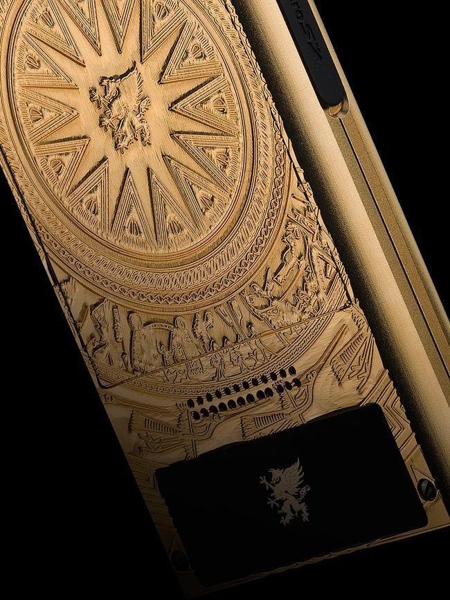 Điện thoại hạng sang Mobiado lấy cảm hứng từ trống đồng Đông Sơn - Điện thoại - Ảnh 2.