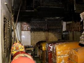 Cháy nhà 4 người trong gia đình tử vong