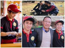 Nhà báo Lại Văn Sâm 'cà phê bệt' với hai anh em bán bánh mỳ trên đất Nhật