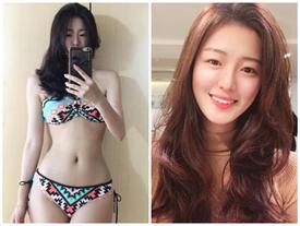 Thêm thiếu nữ Hàn gây sốt vì 'mặt học sinh thân hình phụ huynh'