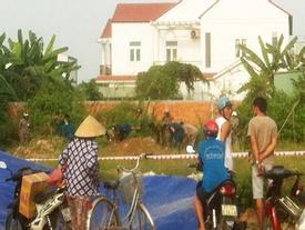 Phát hiện thi thể một phụ nữ bị thiêu trên bãi đất trống