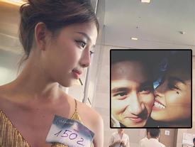 Dung mạo hơn người của bạn gái Phan Mạnh Quỳnh đang gây sốt 'The Face'