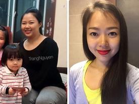 Thực đơn giúp mẹ hai con giảm 14 kg