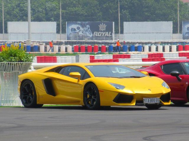 Siêu xe và xe thể thao cao cấp hội ngộ tại trường đua 2.000 tỷ Đồng của Dũng lò vôi - Ảnh 7.