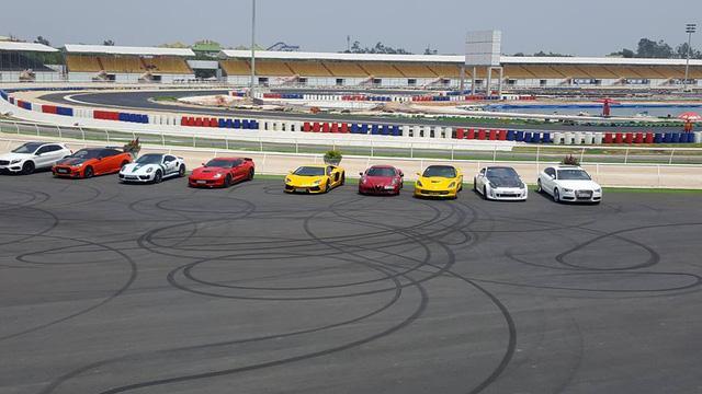 Siêu xe và xe thể thao cao cấp hội ngộ tại trường đua 2.000 tỷ Đồng của Dũng lò vôi - Ảnh 3.