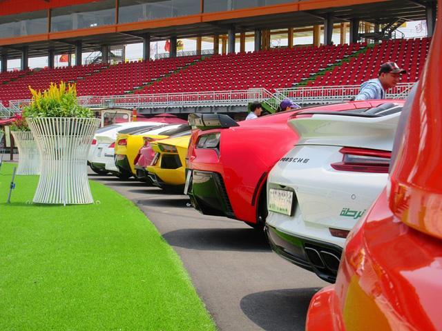 Siêu xe và xe thể thao cao cấp hội ngộ tại trường đua 2.000 tỷ Đồng của Dũng lò vôi - Ảnh 6.