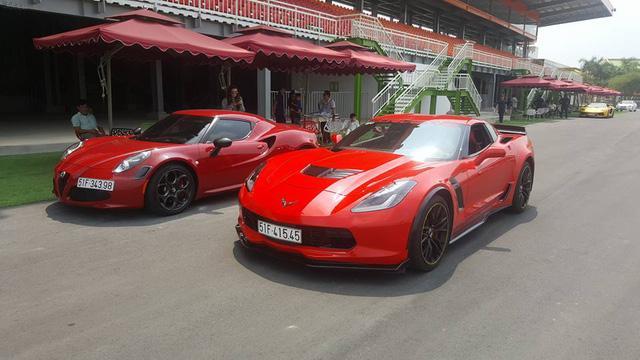 Siêu xe và xe thể thao cao cấp hội ngộ tại trường đua 2.000 tỷ Đồng của Dũng lò vôi - Ảnh 10.