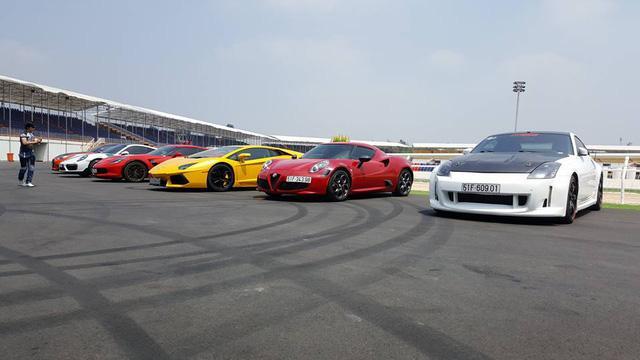 Siêu xe và xe thể thao cao cấp hội ngộ tại trường đua 2.000 tỷ Đồng của Dũng lò vôi - Ảnh 5.