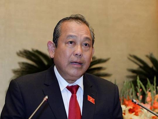 Phó Thủ tướng Thường trực Trương Hoà Bình yêu cầu TP Hà Nội khẩn trương chỉ đạo cơ quan chức năng kiểm tra, xác minh làm rõ vụ xâm hại trẻ em ở quận Hoàng Mai