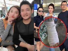FB 24h: Hải Băng đi 'trốn' cùng Thành Đạt - Huyền My công khai ảnh băng bó thương tật