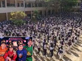 Cả trường nhảy flashmod 'Bống bống bang bang' siêu dễ thương