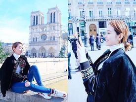 Sau Hà Hồ - Ngọc Trinh, đến lượt Minh Hằng khoe ảnh street style tại Châu Âu đẹp thôi rồi!