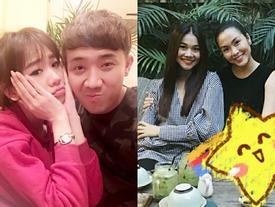 FB 24h: Hà Tăng vác bụng bầu hẹn hò cùng bạn - Trấn Thành mệt vì Hari Won làm nũng