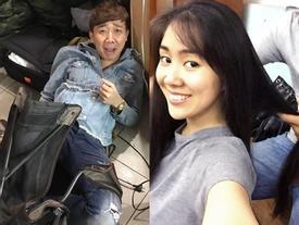 FB 24h: Hari Won 'dìm hàng' Trấn Thành - Lê Phương được bạn trai kém tuổi sấy tóc