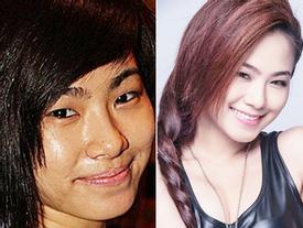 Sự thật làn da ngọc ngà của các mỹ nhân Việt sau lớp trang điểm 'thần thánh'