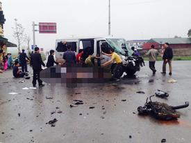 Xe đi đón dâu gặp nạn ở Hà Nam, người thương vong nằm la liệt trên đường