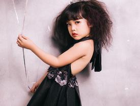 Fashionista 4 tuổi Hà thành khuấy động VNJFW 2017