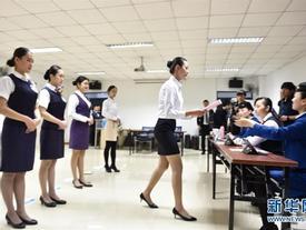 'Đột nhập' phòng tuyển tiếp viên hàng không - những hình ảnh ít người biết