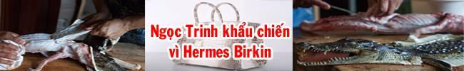 Khẩu chiến Hermes Birkin