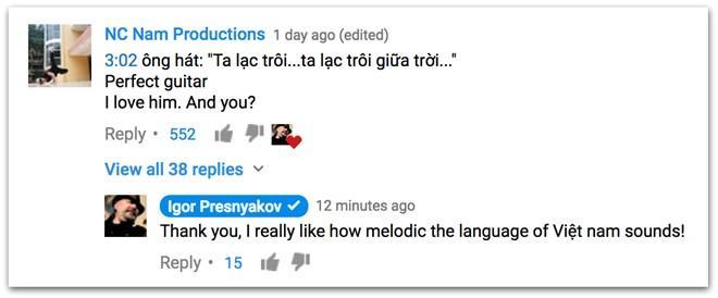 Danh cam Igor Presnyakov cover, hat theo 'Lac troi' cua Son Tung M-TP hinh anh 1